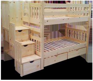 la huche pin bienvenue dans la section les lits superpos s. Black Bedroom Furniture Sets. Home Design Ideas