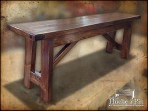 la huche pin bienvenue dans la section tables et chaises. Black Bedroom Furniture Sets. Home Design Ideas